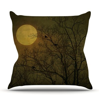 Starry Night by Robin Dickinson Outdoor Throw Pillow