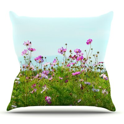 I Choose Magic by Robin Dickinson Outdoor Throw Pillow