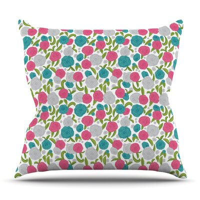 Vintage Brights by Emma Frances Outdoor Throw Pillow