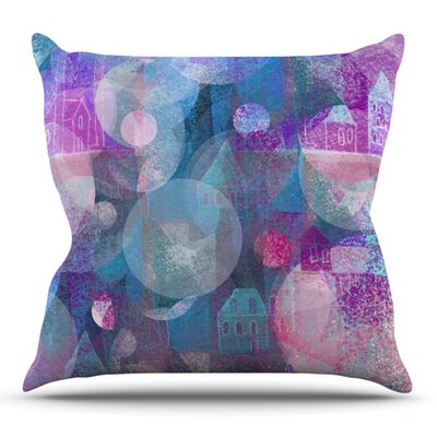 Dream Houses by Marianna Tankelevich Outdoor Throw Pillow