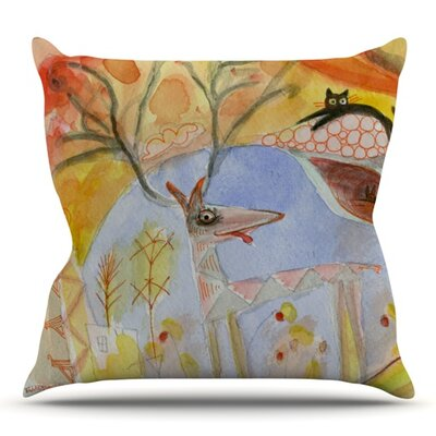 Promise of Magic by Marianna Tankelevich Outdoor Throw Pillow