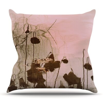 Lotus Dream by Marianna Tankelevich Outdoor Throw Pillow