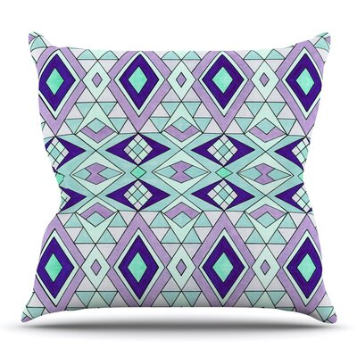 Gems by Pom Graphic Design Outdoor Throw Pillow