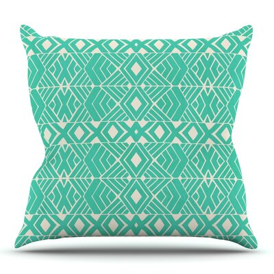 Going Native by Pom Graphic Design Outdoor Throw Pillow