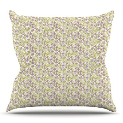 Rhapsody Vine by Julie Hamilton Outdoor Throw Pillow