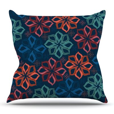 Floral Charm by Jolene Heckman Outdoor Throw Pillow