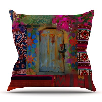 Ethnic Escape by S. Seema Z Outdoor Throw Pillow