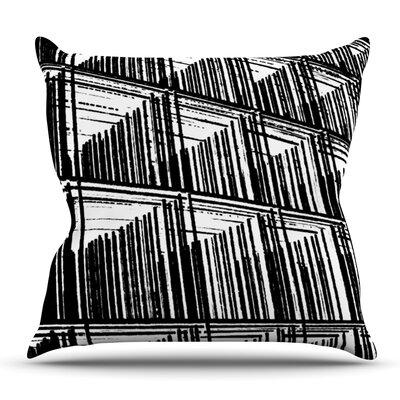 Celik by Trebam Outdoor Throw Pillow