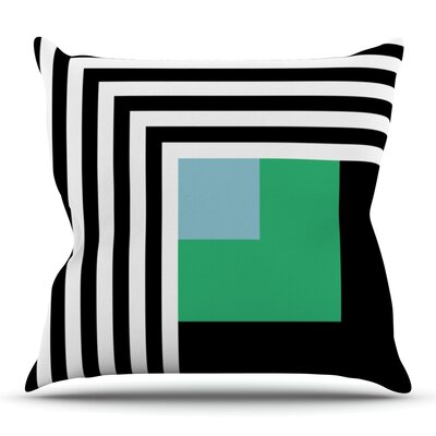 Kutovi by Trebam Outdoor Throw Pillow