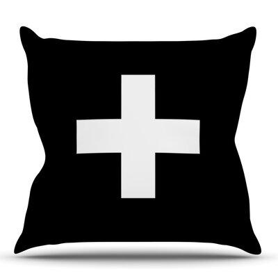 Plus by Trebam Outdoor Throw Pillow