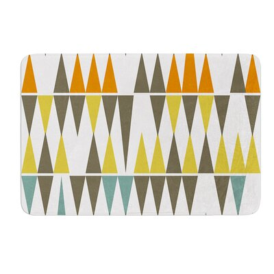 Diamond Kilim by Pellerina Design Bath Mat Size: 17W x 24L