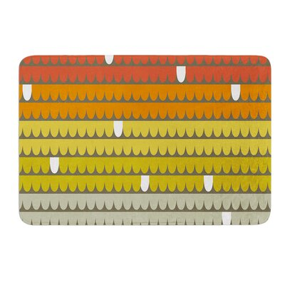 Rainbow Scallops by Pellerina Design Bath Mat Size: 17W x 24L