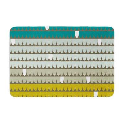 Scallops by Pellerina Design Bath Mat Size: 17W x 24L