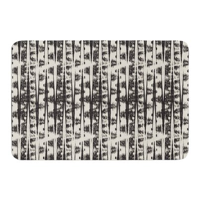 Abstract by Amanda Lane Bath Mat Size: 24 W x 36 L