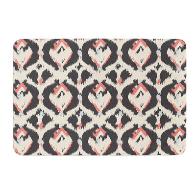 Moonrise Abikat by Amanda Lane Bath Mat Size: 17W x 24L