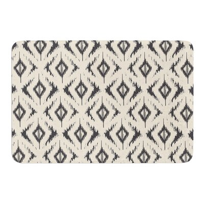 Moonrise Diaikat by Amanda Lane Bath Mat Size: 17W x 24L