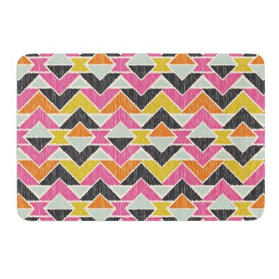 Sequoyah Arrows by Amanda Lane Bath Mat Size: 17W x 24L