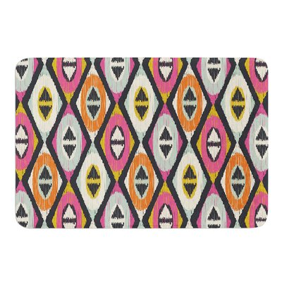 Sequoyah Diamonds by Amanda Lane Bath Mat Size: 17W x 24L