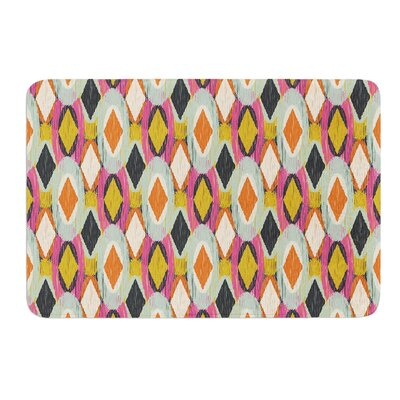 Sequoyah Ovals by Amanda Lane Bath Mat Size: 17W x 24L