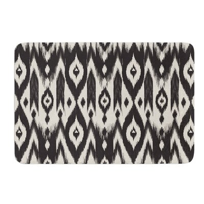 Tribal Ikat by Amanda Lane Bath Mat Size: 24 W x 36 L