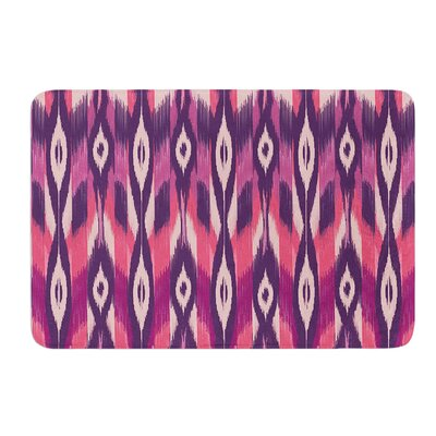 Ikat by Amanda Lane Bath Mat Size: 24 W x 36 L