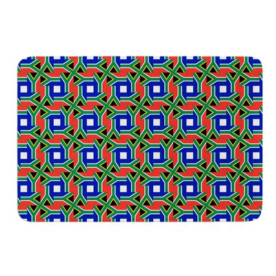 South Africa by Bruce Stanfield Bath Mat Size: 17W x 24L