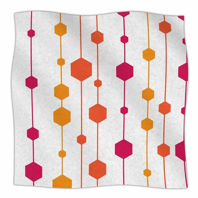 Warm Dots by NL Designs Fleece Blanket