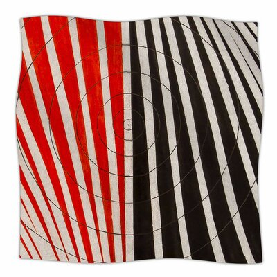 Optical Illusions by NL Designs Fleece Blanket Size: 80 L x 60 W