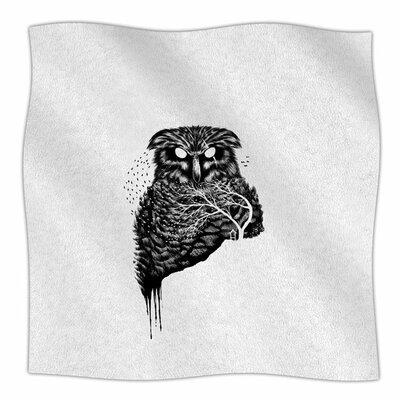 Autumn Owl by BarmalisiRTB Fleece Blanket