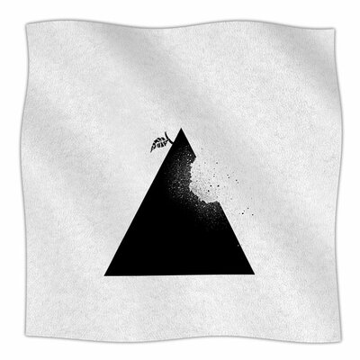 Apple Pyramid by BarmalisiRTB Fleece Blanket