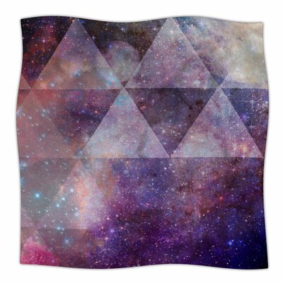 Geometric Stars by Suzanne Carter Fleece Blanket