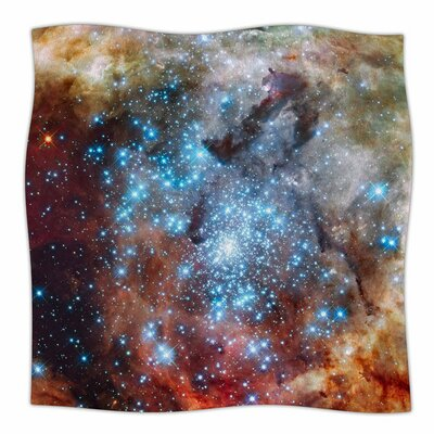 Star Cluster by Suzanne Carter Fleece Blanket