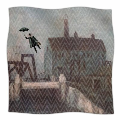Away by Suzanne Carter Fleece Blanket