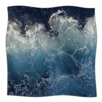 Sea Spray by Suzanne Carter Fleece Blanket