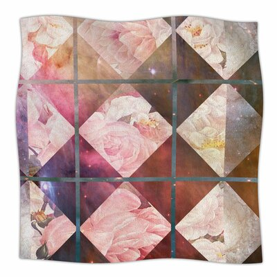 Floral Universe by Suzanne Carter Fleece Blanket