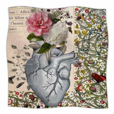 Her Heart is a Garden by Suzanne Carter Fleece Blanket
