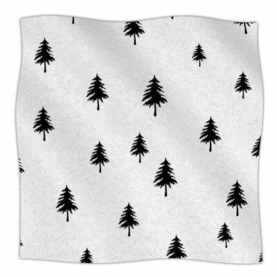 Pine Tree by Suzanne Carter Fleece Blanket