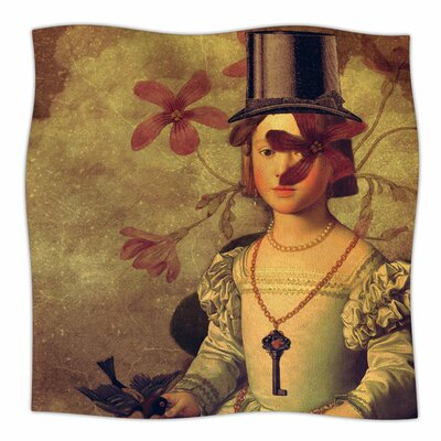 The Key by Suzanne Carter Fleece Blanket