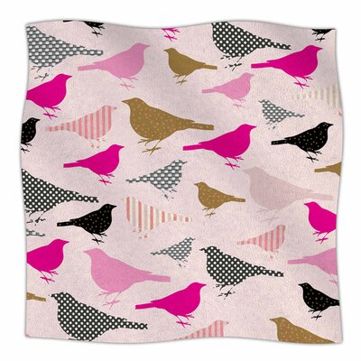 Chirp by Suzanne Carter Fleece Blanket