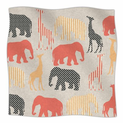 Zoo by Suzanne Carter Fleece Blanket