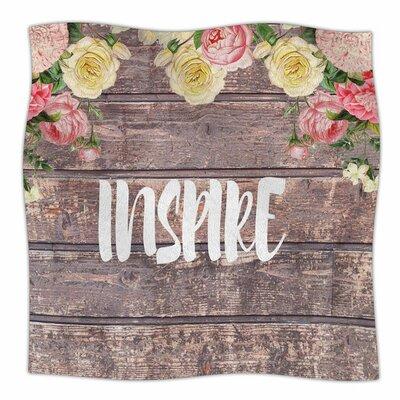 Inspire by Suzanne Carter Fleece Blanket