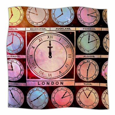 Time Space by Suzanne Carter Fleece Blanket