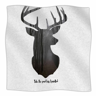 The Road2 by Suzanne Carter Fleece Blanket