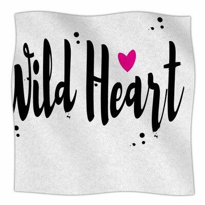 Wild Heart2 by Suzanne Carter Fleece Blanket