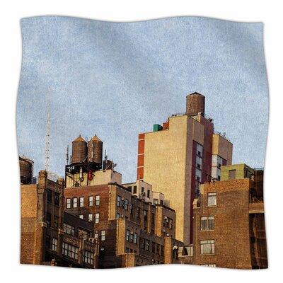 Vintage Nyc by Ann Barnes Fleece Blanket
