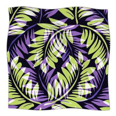 Dark Fern by Alison Coxon Fleece Blanket