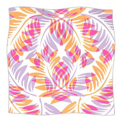 Summer Fern by Alison Coxon Fleece Blanket
