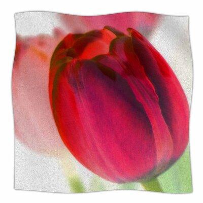 Tulips by Alison Coxon Fleece Blanket