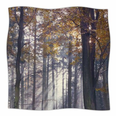 Autumn Sunbeams by Alison Coxon Fleece Blanket