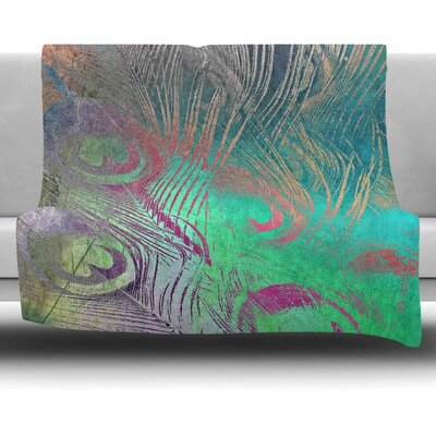Indian Summer by Alison Coxon Fleece Blanket